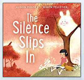 Book Cover of The Silence Slips In