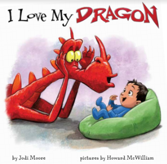 cover of I Love My Dragon