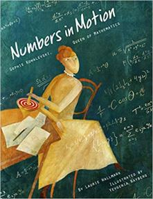 Cover with mathematician Sophie K on front
