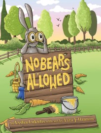 rabbit on cove of no bears allowed book