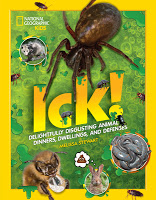 cover of book with big spider at the top
