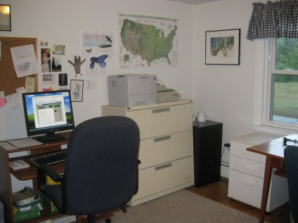 image of melissa's file cabinet and desk